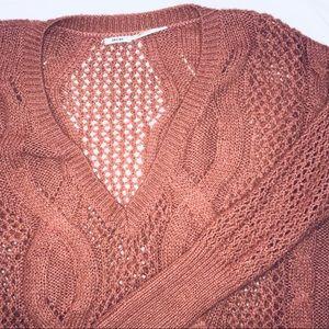 [U.O.] Kimchi Blue Oversized Cable Knit Sweater